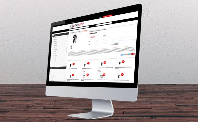 Sito Ecommerce B2C Abbigliamento Moto - YouBiker