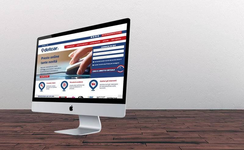 Sito Web CMS Ricambi Auto Dotcar