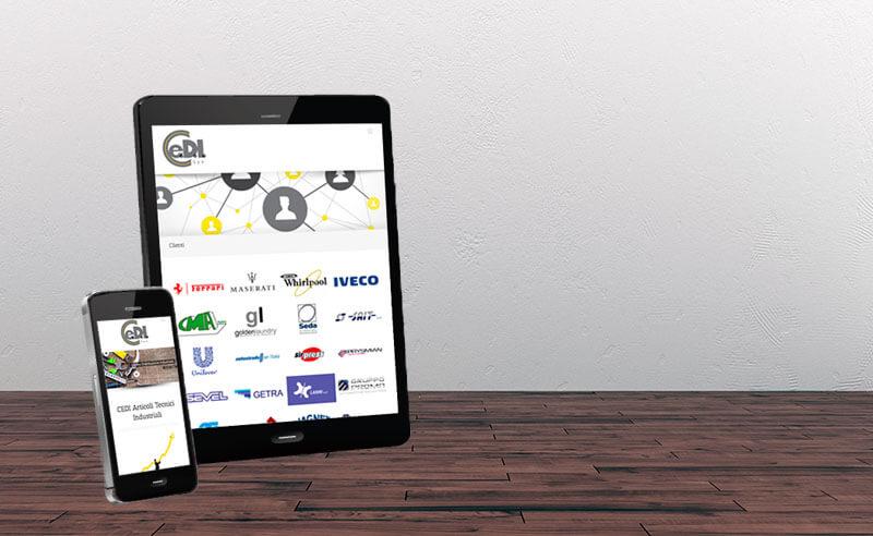 Sito Web CMS Distribuzione articoli industriali