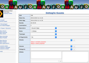 Sito Web CMS Ricambi Auto - Formau